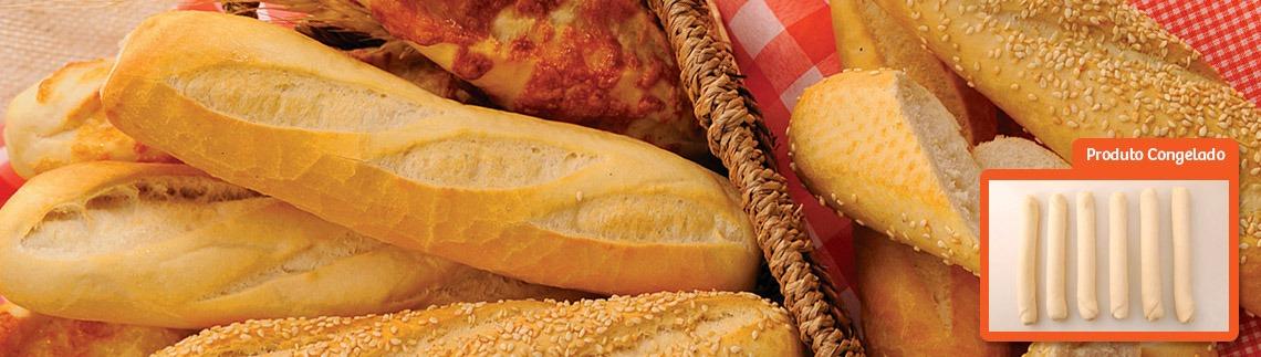 Pão baguetinha congelado